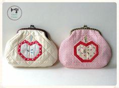 paper pieced purses