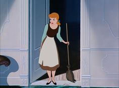 Screencap Gallery for Cinderella Bluray, Disney Classics). In a far away, long ago kingdom, Cinderella is living happily with her mother and father until her mother dies. Cinderella's father remarries a cold, cruel Disney Pixar, Walt Disney, Cute Disney, Disney And Dreamworks, Disney Animation, Disney Cartoons, Disney Magic, Disney Art, Disney Characters
