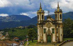 Igreja de São Francisco de Assis in Ouro Preto, MG