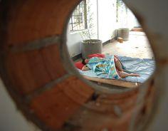 Nikita sleeping at Ruin Academy.