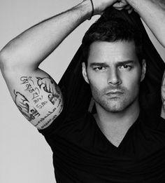Tattoo Ideas Ricky Martin