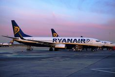 Ryanair at London Stansted International Airport London Airports, International Airport, Aviation, Aircraft, Planes, Airplane, Airplanes, Plane