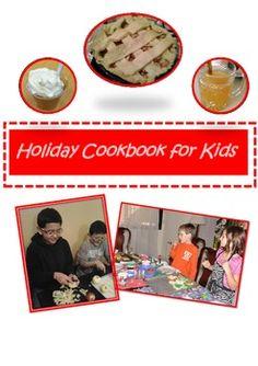 Holiday Cookbook for Kids freebie