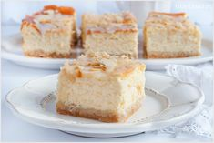 Sernik rosyjski - I Love Bake Cheesecakes, Vanilla Cake, Baked Goods, Cookies, Baking, Sweet, Food, Diet, Kuchen