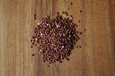 Red quinoa tabbouleh, a recipe on Food52