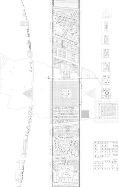 Concave Town - Office of Adrian Phiffer Architecture Graphics, Architecture Drawings, Concept Architecture, Landscape Architecture, Landscape Design, Architecture Design, Plan Drawing, Presentation Layout, Concept Diagram