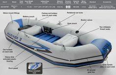 סירות : MARINER-3 סירת גומי מתנפחת