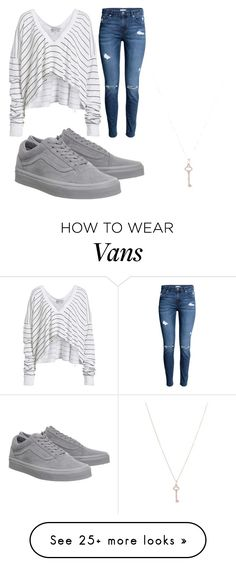 """Untitled #866"" by daniela-silva-souza on Polyvore featuring Wildfox, Vans and Tiffany & Co."