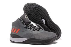 buy popular f0d27 fb4e2 adidas D Rose 8 Grey Black Red White Mens Shoes Free Shipping Jordan Basketball  Shoes,