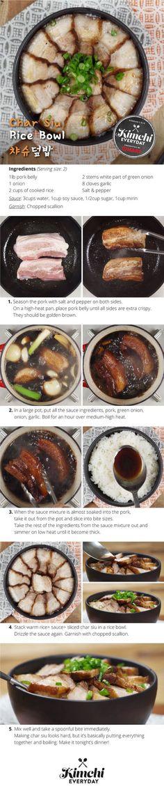 Hmart presents: How to make Char Siu Ramen Bowl