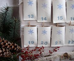 Toilet paper roll advent calendar....clearly i'm trying to figure out the best advent calendar to make