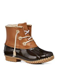 103323589e89 Jack Rogers Chloe Duckboot - Belk.com Duck Boots Outfit