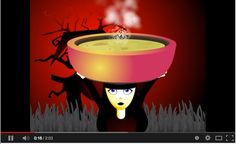 Cool song about making a Halloween soup - funky beat. My Grade 1 French Immersion kids love it! Theme Halloween, Halloween Songs, Halloween Costumes, French Teaching Resources, Teaching French, Core French, French Class, Holiday Activities, Art Activities