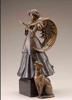 "Letter"" By Michael Parkes, Bronze sculpture, Edition Jean Stephen Galleries, Spain. Drawing Artist, Artist Art, Bronze Sculpture, Sculpture Art, Metal Sculptures, Abstract Sculpture, Different Kinds Of Art, Magic Realism, Park Art"