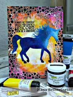 hello everyone! I am here today to share with you one of my favourite art journal pages I have created in a long time. I absolutely love how it turned out and had a really hard time to stop doodli…
