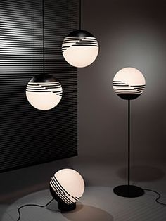 Optical lights by Lee Broom.