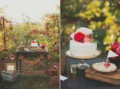 Agua Marina Blog: Apple Orchard Wedding Inspiration By Sarah Park Events And Nessa K Photography