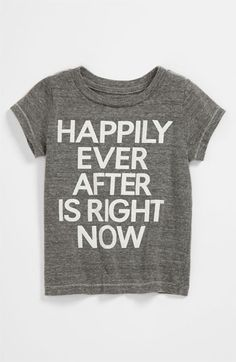 Peek 'Happily Ever After' Tee (Infant) available at Nordstrom