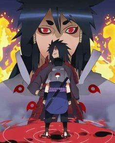 Indra Ootsutsuki, Madara Uchiha, Sasuke Uchiha.