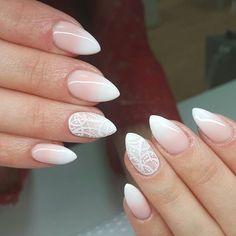 Baby boomer od @neonailpoland ❤ zakochałam się w tych kolorach  #nail #nails #hybryda #hybridnails #neonailpoland #neonail #handmade #lightpeach  #32205#whitegel #babyboomer #handmade #weddingsnail #l4l #f4f