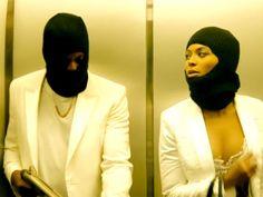 Jay Z e Beyoncé interpreta um casal de bandidos no vídeo 'Run', que promove a primeira turnê conjunta do casal (Foto: Divulgação)