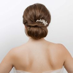 chic twisted wedding hair updo