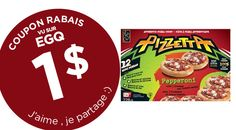 COUPON 1$ PIZZETTAS MINI PIZZAS