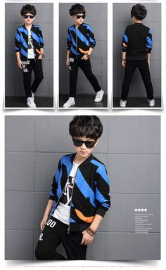 Sport Clothes Children Spring 2-pc Clothes Set Kids – Trending Accessories China National Day, Sport Outfits, Kids Outfits, Cocktail Wear, Outfit Sets, Baby Kids, Bomber Jacket, Winter Jackets, Celebrities