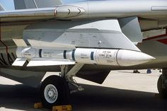 THE DREADED - Phoenix Missile, here attached to an F-14 but its origins are traced to the SR-71 Blackbird program...!