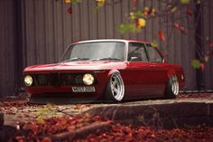 "I am a firm believer that any older BMW can still look amazing and this is a great example. This is an older BMW ""2002"""
