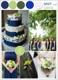 Navy green wedding colors palette,navy green summer wedding | Navy ...