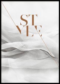 Fashion en mode posters en prints met quotes. Chanel en Prada posters | Desenio.nl