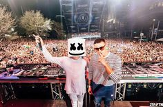 Marshmello with Dj Snake