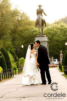 Boston Common Wedding Photos