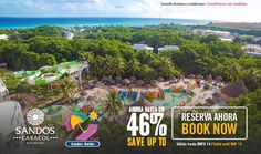 Official website of Sandos Caracol Eco Experience Resort in Playa del Carmen, Mexico. Save up to 44% on all inclusive vacations now by booking directly here…
