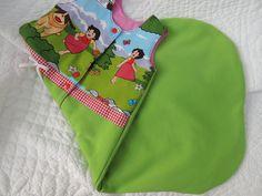 Baby Bio Schlafsack  Gr. 62/68 von                 made by RiAnn   auf DaWanda.com