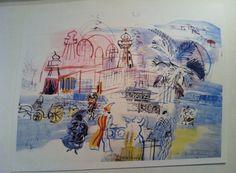 RAOUL DUFY RARE French Lithograph Aquarelle Print by TheAvidDiva
