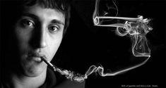 Fumar mata. Compara el cigarrillo con un arma. Ambos pueden matar