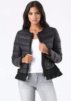 Black Jacket with different concept