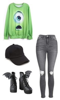"""""""Untitled #166"""" by zelephant ❤ liked on Polyvore featuring Topshop, Iron Fist and rag & bone"""