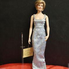 Franklin Mint One White Lace Purse For Franklin Mint Princess Diana Vinyl Doll