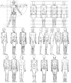 Today's Drawing Class 101: Understanding body proportions ||