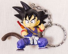 Dragon Ball Z Son Gokou Goku Mascot Figure Key Chain Holder 2 JAPAN ANIME MANGA