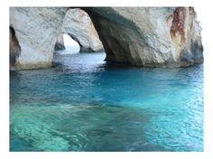 The Blue Caves on Zakynthos in the Ionian Islands of Greece: http://www.greece-travel-secrets.com/Zakynthos.html