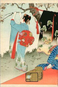 Shuntei_Miyagawa-Todays_Elegant_Manners_and_Customs-Picnic