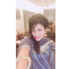 Happy Ashtami everyone Sonu Kakkar, Ruffle Blouse, Selfie, Women, Fashion, Moda, Fashion Styles, Fashion Illustrations