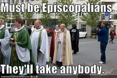 The #Episcopal Church Welcomes You! Even Darth Vader. #StarWars