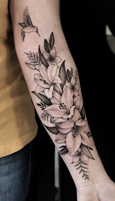 75 pictures of female tattoos on the arm - pictures and tattoos… - Brenda O. Tattoos - flower tattoos - 75 pictures of female tattoos on the arm Pictures and tattoos Brenda O. Cool Forearm Tattoos, Cute Tattoos, Leg Tattoos, Body Art Tattoos, Female Tattoos, Female Forearm Tattoo, Woman Arm Tattoos, Tatoos, Ribbon Tattoos