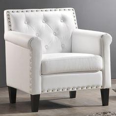 255 white faux leather amazoncom baxton studio thalassa modern arm chair