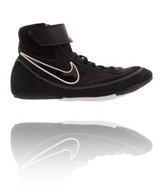 NIKE YOUTH SPEEDSWEEP VII BLACK/BLACK/WHITE